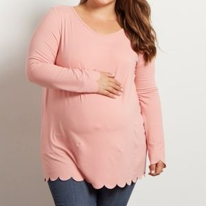 NWOT Pinkblush | Pink Maternity Plus Top